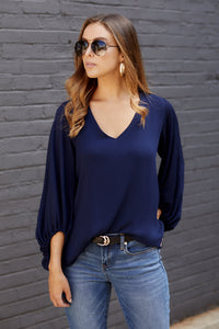 Alani Semi Sheer Blouse