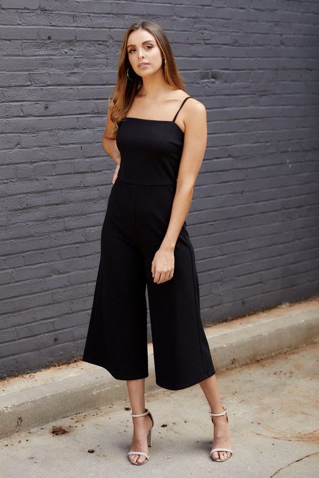 Vera Cropped Jumpsuit