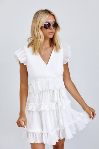 PreOrder Laivy Tiered Tie Waist Dress