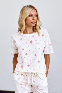PreOrder Mia Star Print Lounge Top