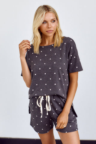 PreOrder Harper Polka Dot Lounge Top