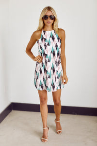 PreOrder Rosie Geometric Print Dress