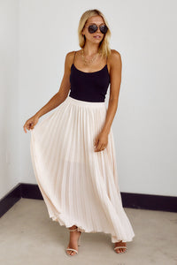 PreOrder Eden Pleated Maxi Skirt