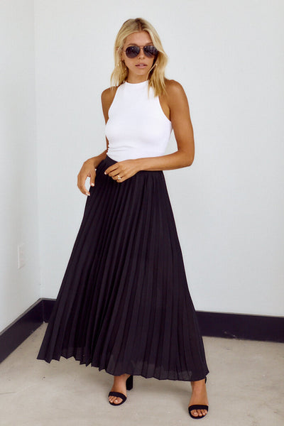 fab'rik - Eden Pleated Maxi Skirt image thumbnail
