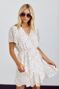 Melbourne Flutter Sleeve Dress