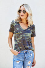 Load image into Gallery viewer, Z Supply Camo Pocket Tee
