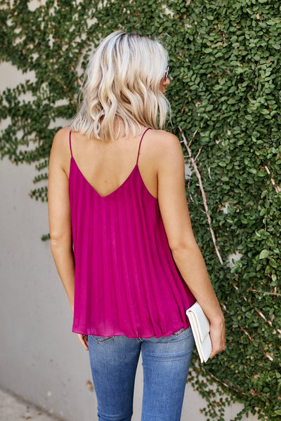 fab'rik - Teagan Pleated Tank image thumbnail