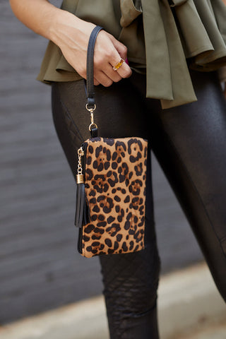 Animal Print Pouch