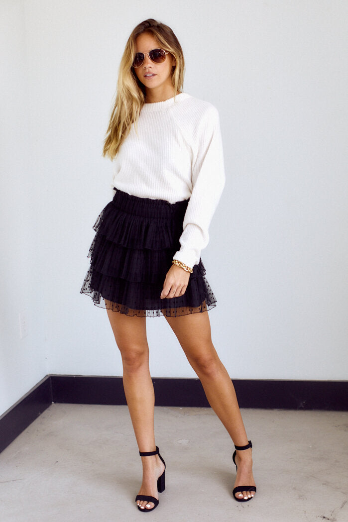 fab'rik - Colemo Tiered Mini Skirt ProductImage-14159973580858