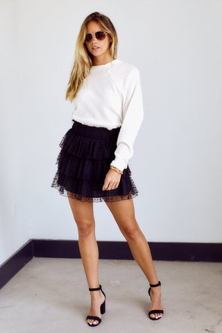 Preorder Colemo Tiered Mini Skirt
