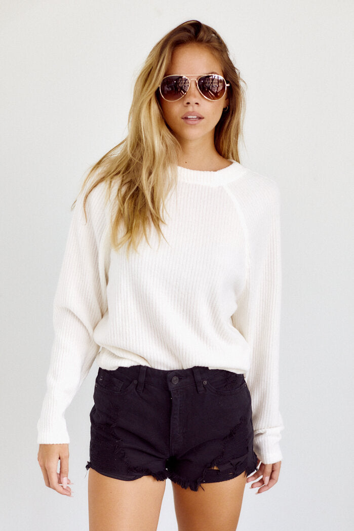 fab'rik - PreOrder Shaleen Ribbed Long Sleeve Tee ProductImage-14157418954810