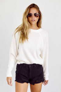 fab'rik - PreOrder Shaleen Ribbed Long Sleeve Tee ProductImage-14157418987578