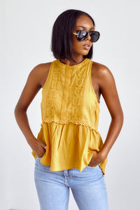 Leona Hi Low Sleeveless Top