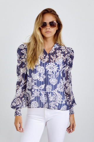 PreOrder Camino Puff Sleeve Blouse