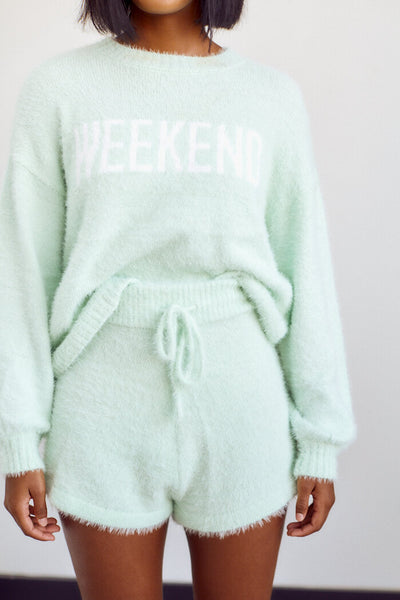 fab'rik - PreOrder The Weekend Fuzzy Short image thumbnail