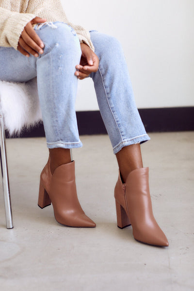 fab'rik - Camilla Pointed Toe Bootie image thumbnail