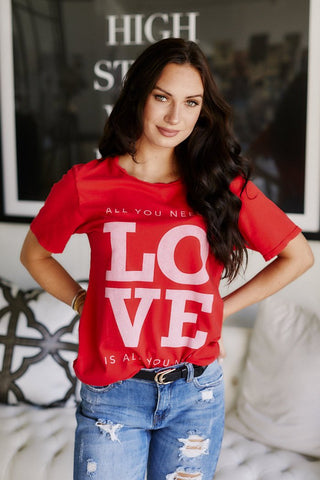 Lilly Love Graphic Tee