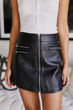 Load image into Gallery viewer, Asher Daniel Faux Leather Skirt