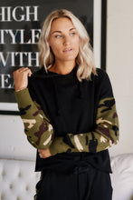 Load image into Gallery viewer, Darcie Fleece Camo Hoodie