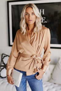 Jennifer Wrap Top