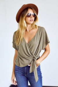 PreOrder Maybelle Wrap Style Blouse