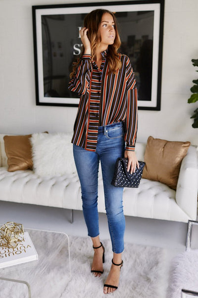 fab'rik - Lainey Stripe Blouse image thumbnail