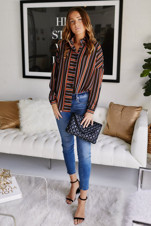 Lainey Stripe Blouse