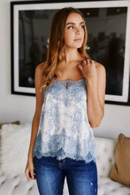 Load image into Gallery viewer, Sammi Lace Trim Cami