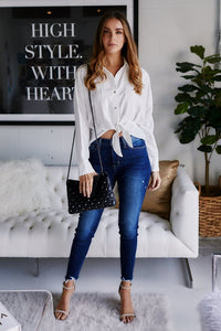 Irving Tie Front Blouse