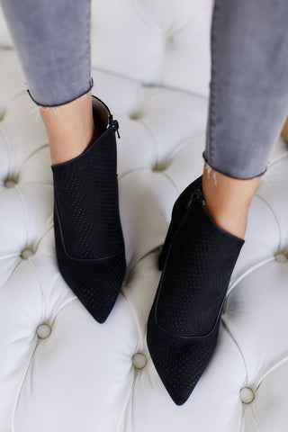 Jess Perforated Bootie