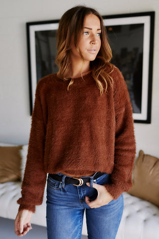 Kyra Cropped Sweater