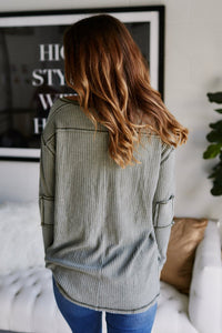Britt Long Sleeve Thermal Top