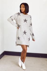 fab'rik - Brindley Star Print Sweater Dress ProductImage-14192966533178