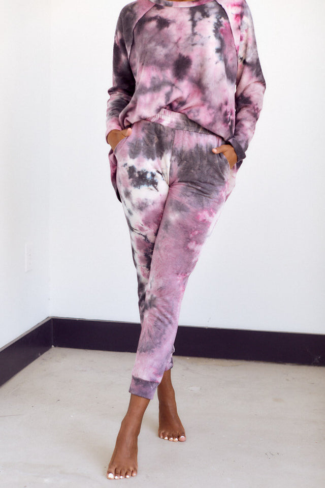 Ellis Brushed Tie Dye Pant