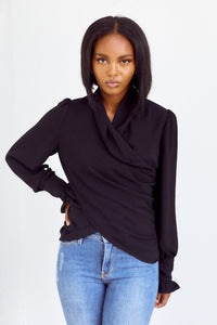 fab'rik - Maybry Wrap Blouse ProductImage-14192716644410
