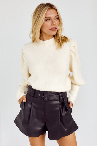 fab'rik - PreOrder Lowndes Belted Shorts image thumbnail