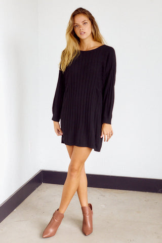 Denver Cableknit Sweater Dress