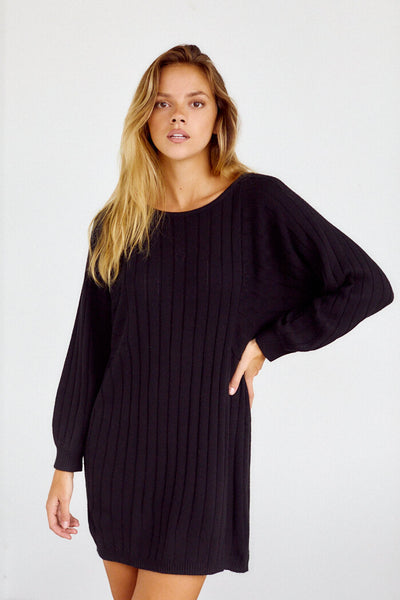 fab'rik - Denver Cableknit Sweater Dress image thumbnail