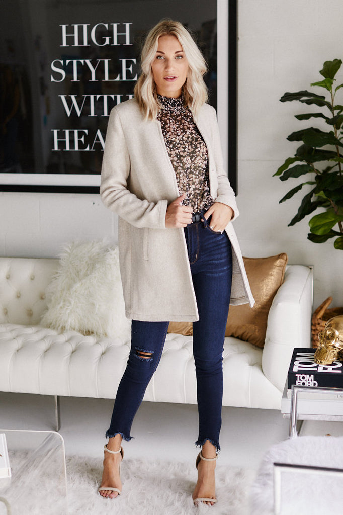 Cloverly Wool Coat