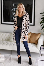 Load image into Gallery viewer, Tula Leopard Print Cardigan