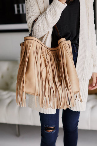 Fringe Tote & Pouch Set