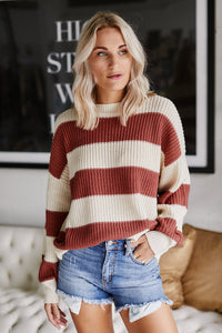 Ashford Stripe Sweater