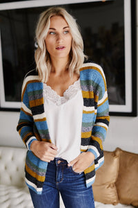 Essen Stripe Cardigan