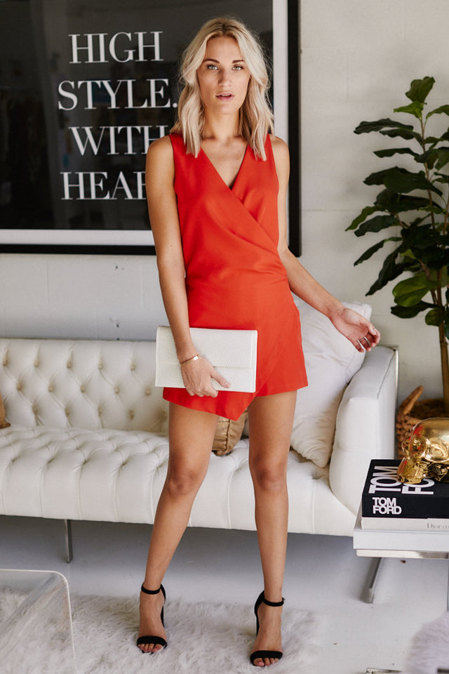 Becnel Sleeveless Romper