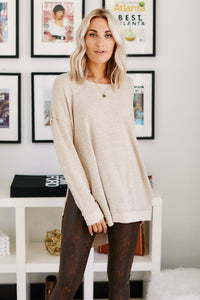 Z Supply Marled Sweater Knit Tunic