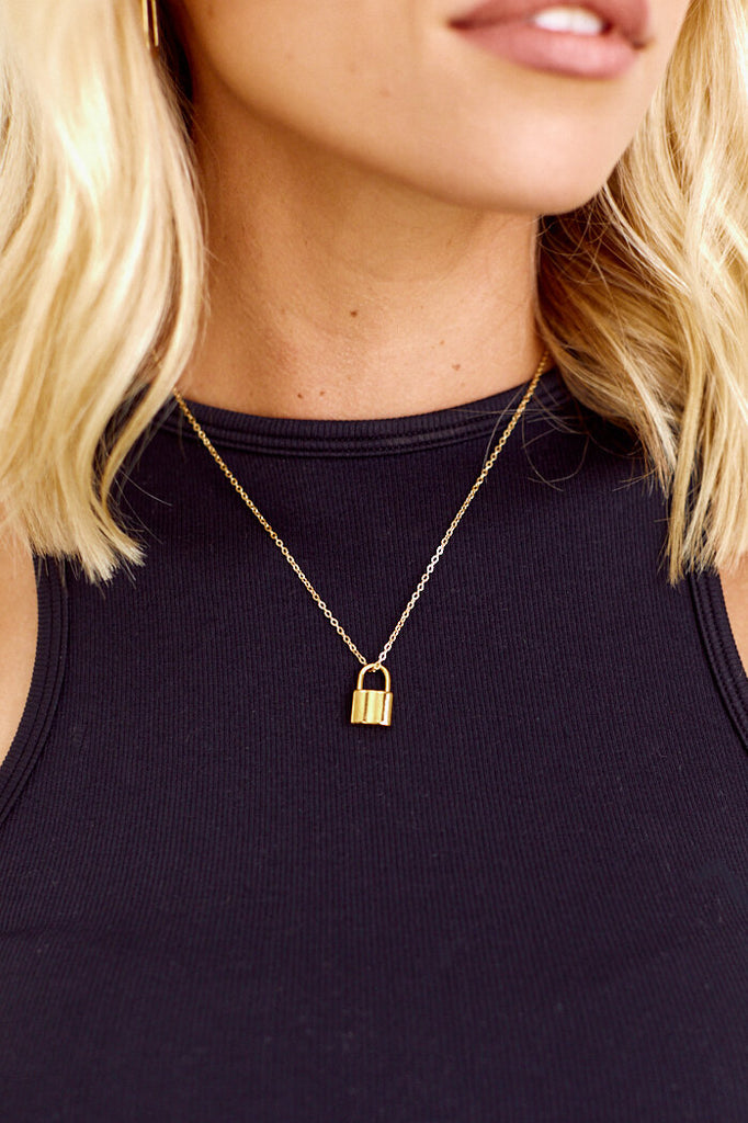 Frey Lock Necklace