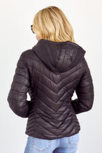 Load image into Gallery viewer, SALE - Carren Hooded Puffer Jacket