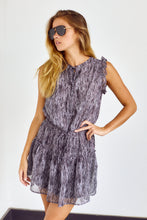 Load image into Gallery viewer, SALE - Journie Ruffle Detail Smocked Waist Dress