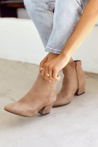 Alia Pointed Toe Bootie