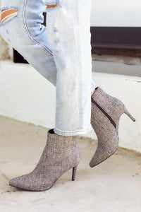 Success Pointed Toe Bootie